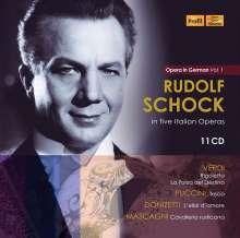 Rudolf Schock - Opera in German Vol.1 (5 Opern in deutschen Fassungen), 11 CDs