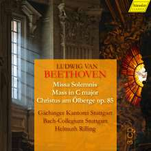 Ludwig van Beethoven (1770-1827): Missa Solemnis op.123, 3 CDs