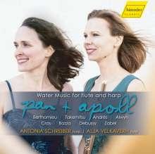 Antonia Schreiber - Pan & Apoll (Wassermusik für Flöte & Harfe), CD