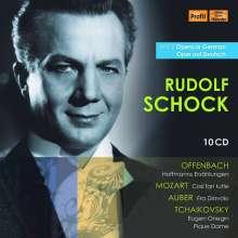 Rudolf Schock - Opera in German Vol.2 (5 Opern in deutschen Fassungen), 10 CDs