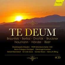 Te Deum (in 7 Vertonungen), 4 CDs