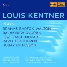 Louis Kentner plays, 10 CDs