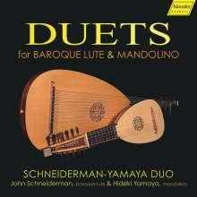 Duette für Barock-Laute & Mandoline, CD