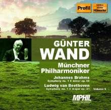 Günter Wand dirigiert die Münchner Philharmoniker Vol.5, 2 CDs
