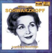 Elisabeth Schwarzkopf - Legendary Recordings, 2 CDs
