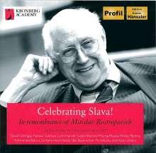 Celebrating Slava! - In Remenbrance of Mstislav Rostropovich, 4 CDs