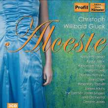 Christoph Willibald Gluck (1714-1787): Alceste (ital.Fassung), 3 CDs