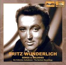 Fritz Wunderlich - Songs & Melodies (Früheste Aufnahmen), CD