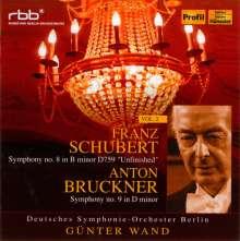 Günter Wand & das Deutsche Symphonie-Orchester Berlin Vol.2, 2 CDs