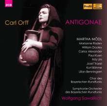 Carl Orff (1895-1982): Antigone, 2 CDs