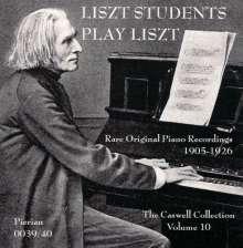 Liszt-Studenten spielen Liszt, 2 CDs
