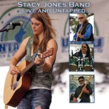 Stacy Jones (Blues): Live And Untapped, CD