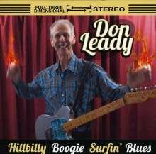 Don Leady: Hillbilly Boogie Surfin Blues, CD