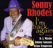 Sonny Rhodes: I'm Back Again, CD