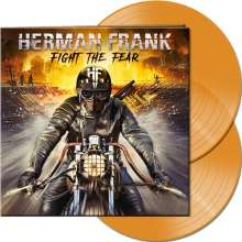 Herman Frank: Fight The Fear (Limited-Edition) (Clear Orange Vinyl), 2 LPs