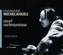 Arturo Benedetti Michelangeli spielt Klavierkonzerte, CD