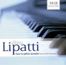 Dinu Lipatti - Pianist von göttlicher Spiritualität, 10 CDs