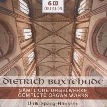 Dieterich Buxtehude (1637-1707): Sämtliche Orgelwerke, 6 CDs