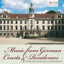Musik aus Schlössern und Residenzen, 20 CDs