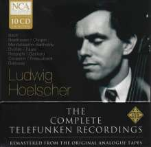 Ludwig Hoelscher - The Complete Telefunken Recordings, 10 CDs