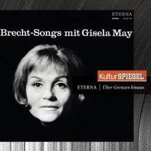 Gisela May singt Brecht-Lieder, CD