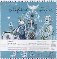 Wolfgang Amadeus Mozart (1756-1791): Die Entführung aus dem Serail (180g), 3 LPs