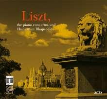 Franz Liszt (1811-1886): Klavierkonzerte Nr.1 & 2, 2 CDs
