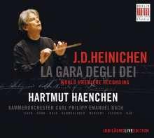 "Johann David Heinichen (1683-1729): Serenata ""La Gara Degli Dei"", CD"