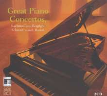 Great Piano Concertos, 2 CDs