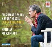 Felix Mendelssohn Bartholdy (1809-1847): Lieder ohne Worte (Ges.-Aufn.), 3 CDs