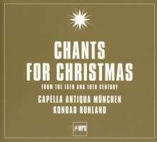 Capella Antiqua München - Chants for Christmas, CD