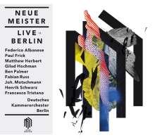 Neue Meister Live in Berlin, 2 CDs