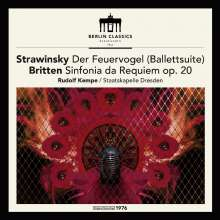 Igor Strawinsky (1882-1971): Der Feuervogel (180g), LP