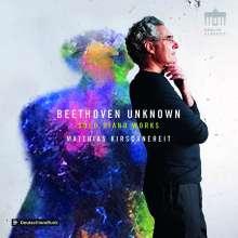 """Ludwig van Beethoven (1770-1827): Klavierstücke """"Beethoven unknown"""", CD"""