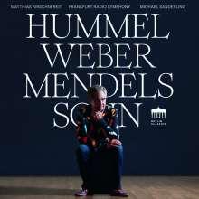 Matthias Kirschnereit - Hummel / Weber / Mendelssohn, CD