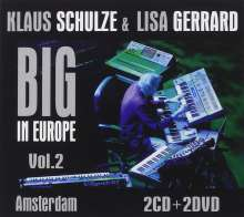 Klaus Schulze & Lisa Gerrard: Big In Europe Vol. 2: Amsterdam 2009 (2 CD + 2 DVD), 2 CDs und 2 DVDs