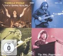 Vanilla Fudge: Live At Sweden Rock 2016, 1 CD und 1 DVD
