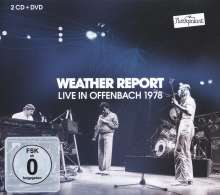 Weather Report: Live AT Rockpalast: Offenbach 1978, 2 CDs und 1 DVD