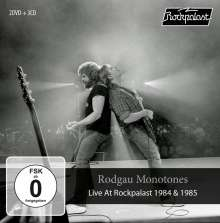Rodgau Monotones: Live At Rockpalast 1984 & 1985, 3 CDs und 2 DVDs