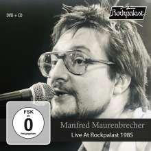 Manfred Maurenbrecher: Live At Rockpalast 1985, 1 CD und 1 DVD