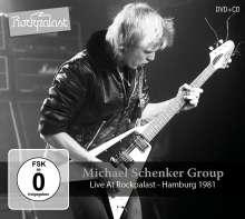 Michael Schenker: Live At Rockpalast: Hamburg 1981, 1 CD und 1 DVD