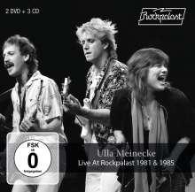Ulla Meinecke: Live At Rockpalast 1981 & 1985, 3 CDs und 2 DVDs