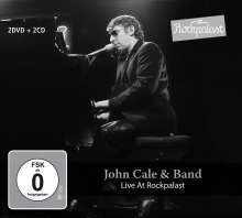John Cale: Live At Rockpalast 1983 & 1984, 2 CDs und 2 DVDs