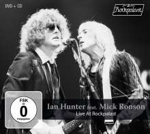 Ian Hunter & Mick Ronson: Live At Rockpalast 1980, 1 CD und 1 DVD
