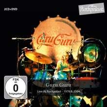 Guru Guru: Live At Rockpalast 1976 & 2004, 2 CDs und 1 DVD