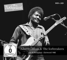 Albert Collins: Live At Rockpalast: Dortmund 1980, 2 CDs und 1 DVD