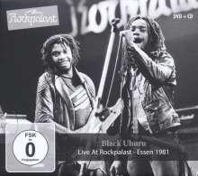 Black Uhuru: Live At Rockpalast Essen 1981, 1 CD und 1 DVD