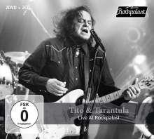 Tito & Tarantula: Live At Rockpalast 1998 - 2008, 2 CDs und 2 DVDs