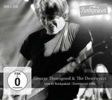 George Thorogood: Live At Rockpalast: Dortmund 1980, 2 CDs und 1 DVD