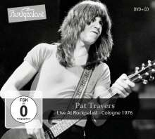 Pat Travers: Live At Rockpalast: Cologne 1976, 1 CD und 1 DVD